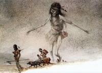 Ачери. Иллюстрация Роберта Ингпена