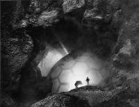 """Корабль пришельцев. Рекламное фото к фильму """"Это прибыло из космоса"""" (It Came from Outer Space, 1953)"""