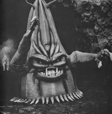 "Фото со съёмок фильма ""Оно покорило мир"" (It Conquered the World, 1956)"