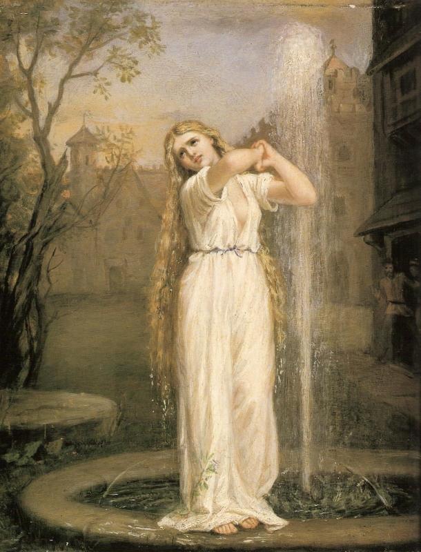 Ундина. Картина Джона Уильяма Уотерхауса (1872)