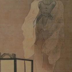 Призрак. Автор рисунка Каванабэ Кёсай