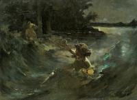 Свитезянка (1898-1900). Картина Казимира Альхимовича