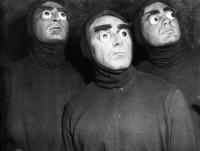 "Рекламное фото к фильму ""Убийцы из космоса"" (Killers from Space, 1954)"