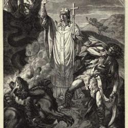 La gargouille de Rouen, et le privilege de Saint Romain