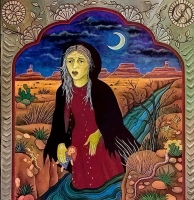 Ла Йорона. Картина  Дайаны Брайер, 1987 год