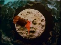 "Кадр из фильма ""Путешествие на Луну"" (Le voyage dans la lune, 1902)"