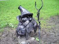 Лесовичок в Донецком Парке кованых скульптур