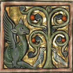 Дерево перидексион. Рукопись музея Гетти в Лос-Анджелесе (MS. Ludwig XV 4, fol.103r.)