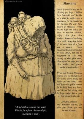 Мамуна (Mamuna). Рисунок Лукаша Станеца