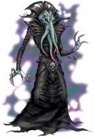 """Иллитид из бестиария """"Dungeons & Dragons"""" 3-ей редакции. Иллюстрация Тода Локвуда"""