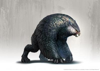 Совомедведь. Иллюстрация Руди Сисванто