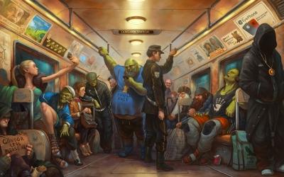 Fantasy is now. Иллюстрация Антона Яковлева (Tony Sart)