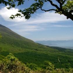 Гора Нэкома-дакэ в префектуре Фукусима