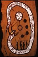 Рогатый змей. Рисунок Норваля Мориссо