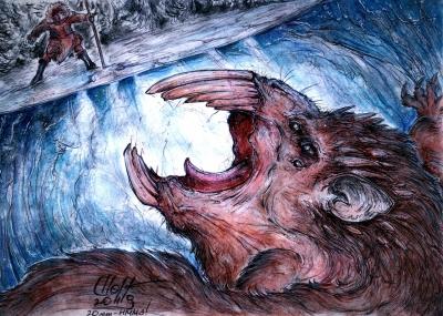 Йинь-шу. Иллюстрация Кейтара Вольфура