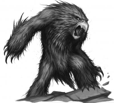 Совомедведь. Иллюстрация Дэйва Олсопа