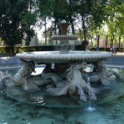 Фонтан морских коней на территории виллы Боргезе, Рим