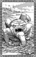 Пятиног. Иллюстрация Томислава Томича