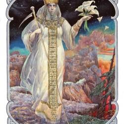 Марена (Морана). Иллюстрация Виктора Королькова