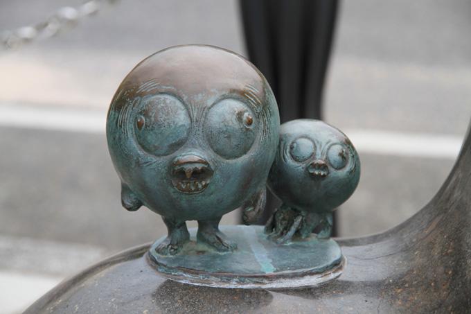 Кидзимуна. Статуя в Сакаиминато, на улице Шигеру Мизуки