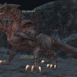Сарамейя треглавая из Final Fantasy XI