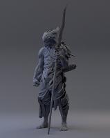Демон Шезму. 3D-скульптура Лоурента Хервейца (Laurent Herveic aka NZO)