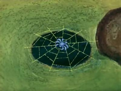 """Синюшкин колодец. Кадр из мультфильма """"Синюшкин колодец"""" (1973)"""