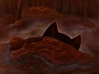 """Уши земляной кошки. Кадр из мультфильма """"Синюшкин колодец"""" (1973)"""