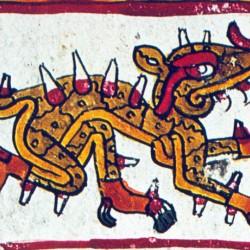 Сипактли. Изображение из Кодекса Борджиа