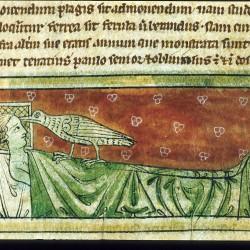 Харадр. Рукопись Британской библиотеки (MS Sloane 3544, fol. 24r.)