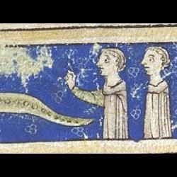 Сциталис. Рукопись Британской библиотеки (MS Sloane 3544, fol. 38r.)