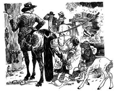 """Из жизни кентавров. Рисунок Донны Барр из комикс-серии """"Stinz"""""""