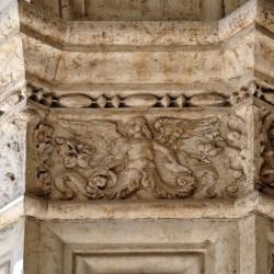 Сцилла (барельеф на Дворце дожей, Венеция)