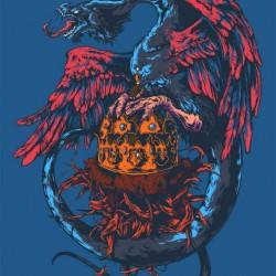 Интерпретация герба Казани от иллюстратора Ивана Беликова