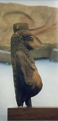 Статуэтка королевы Тии в форме богини Таурт
