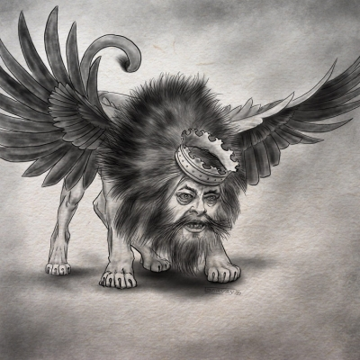 Сфинкс. Иллюстрация Майка Гарви