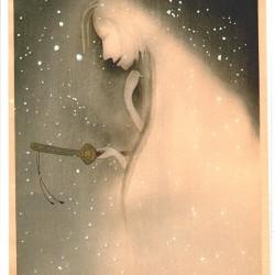 Юрэй. Автор рисунка Уэмура Сёэн