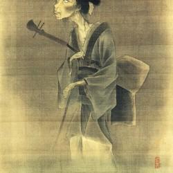 Призрак годзэ. Автор рисунка Утагава Хидэёси