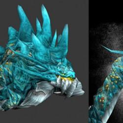 """Териоморфный кракен из """"World of Warcraft"""""""