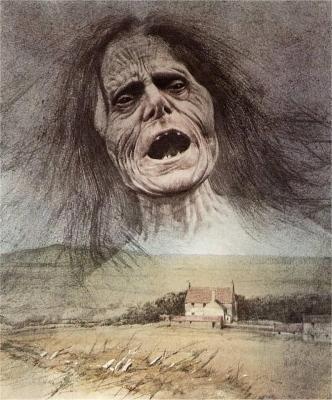 Банши. Иллюстрация Роберта Ингпена