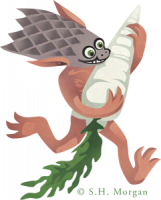 Ямаороши. Современный рисунок от Сьюзан Морган