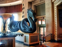 Багамский морской змей (скульптура)