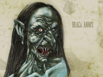 Черная Аннис. Рисунок Франсиско Варгаса