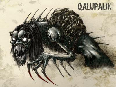 Калупалик. Рисунок Франсиско Варгаса