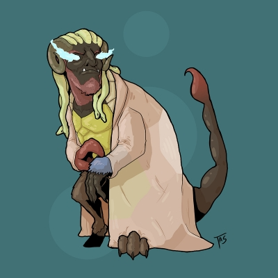 Хавуахуа. Иллюстрация Трэйси Шепарда