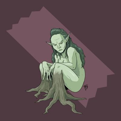 Аскефруа. Иллюстрация Трэйси Шепарда