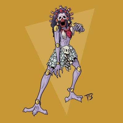 Цицимитль. Иллюстрация Трэйси Шепарда