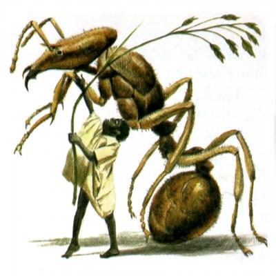 Абатва. Иллюстрация Роберта Ингпена