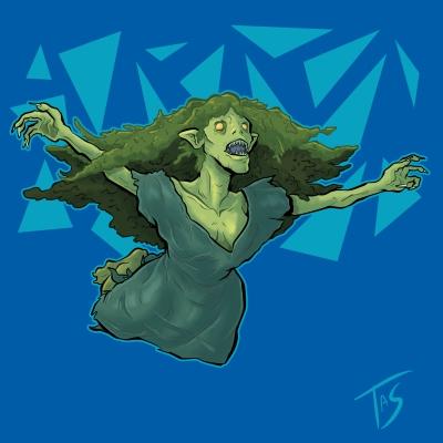 Дженни Зеленые Зубы. Иллюстрация Трэйси Шепарда