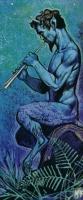 Сатир. Иллюстрация Ангуса МакБрайда
